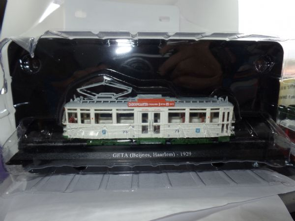 Atlas Editions 1/87 HO Scale Trams of the World  GETA Beijnes Haarlem Holland Netherlands 1929